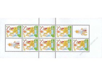 2002, 6.40Kč Mikulášská nadílka, SL, Nr.336, **