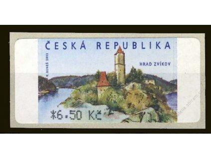 2003, 6.50Kč Zvíkov, AU 2/3