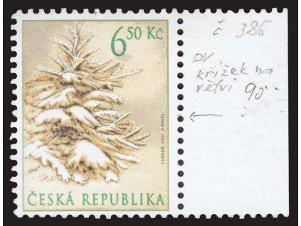 2003, 6.50Kč Vánoce, DO - RK ve stromku, Nr.DO 386, **