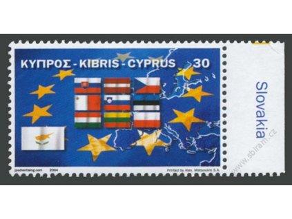 2004, 10 nových členů EU, Kypr, **