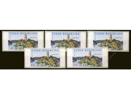 2005, 7.50-38Kč automatové známky, Nr.AU 2/4