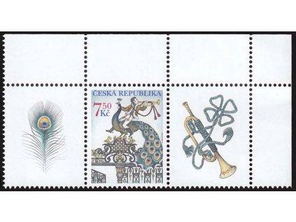 2005, 7.50Kč Brána s pávem, kupony, Nr.424, **
