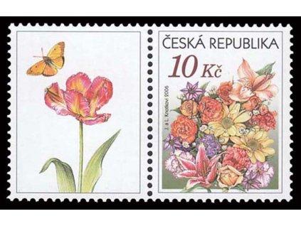 2006, 10Kč Gratulační kytice, kupon, Nr.459, **