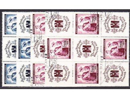60h-1.20K ČK I, VK21,22, Nr.50-1, razítkované
