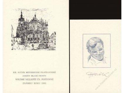 Herčík, podpis na SU 19 z roku 1981