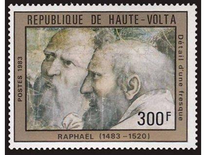 Haute Volta, 1983, 300Fr Umění, MiNr.923, **