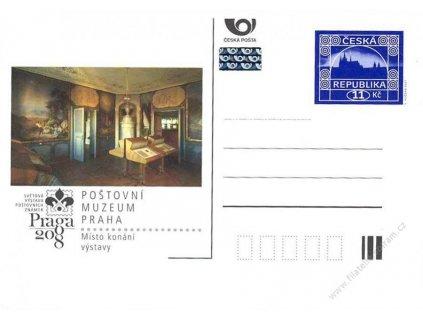 CDV 111 Praga 2008 - Poštovní muzeum