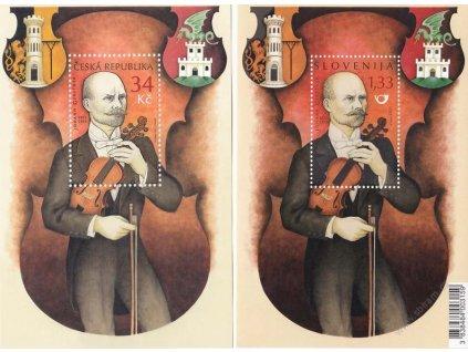 2011, Johann  Gesrner, společné vydání ČR + Slovinsko, **