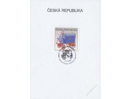 2013, Vyšší Brod, Slavnostní jízda dostavníků, pamětní list