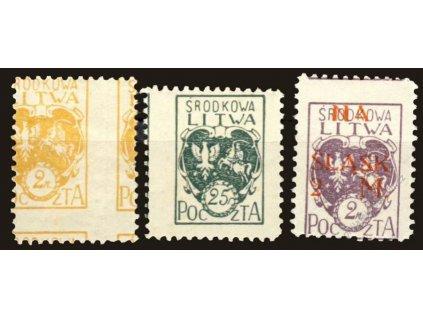 Litwa Šrodkowa, 1920/21, posuny, **/*