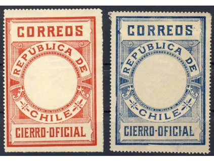 Chile, 1900, Cierro-Oficial, (*) , horší jakost