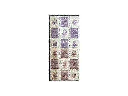 1941, 60h-1.20K A.Dvořák, Nr.62-63, VK22, **