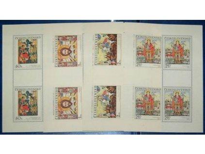 1970, 60h-2.80Kčs PL Slov. ikony Nr.1864-7, **