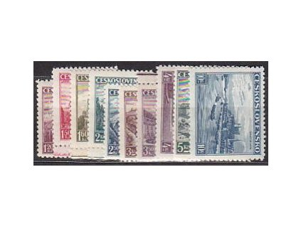 1936, 1.20-10Kč Krajiny, série, Nr.304-13, **