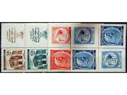 1941, 30h-2.50K Mozart, Nr.68-71,VK-20, **
