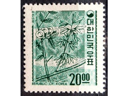Korea-South, 1966, 20W Symbol, **
