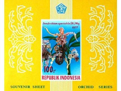 Indonesie, 1977, aršík, MiNr.Bl.24B, **