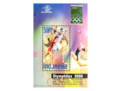 Indonesie, 2000, aršík, MiNr.Bl.163, **