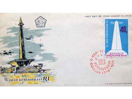 Indonesie, 1970, FDC Arad Kemerdekan
