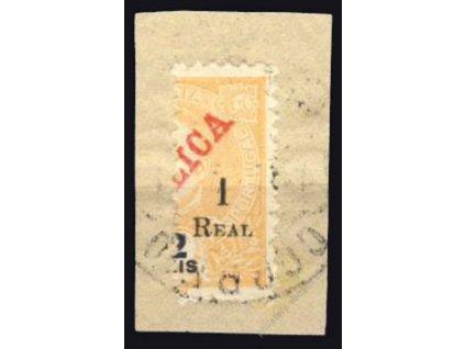 Indie, 1911, 1REAL/2R MiNr.238, výstřižek