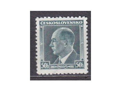 1937, 50h Beneš, Nr.314, **