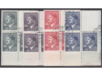 10-50K Hitler, VK-2, Nr.96-9, razítkované