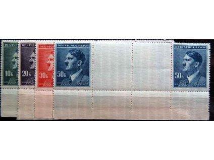 1942, 10-50K Hitler, Nr.96-9,VK5, **