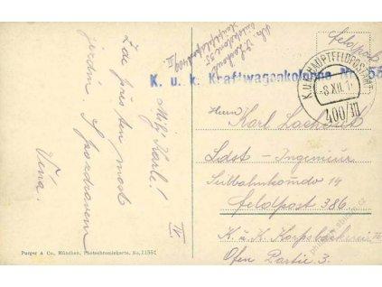 No.400/III + K.u.k. Kraftwagenkolonne Nr.155