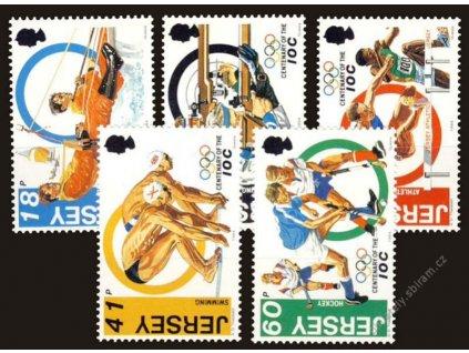 Jersey, 1994, 18-60P série, MiNr.660-64, **