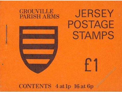 Jersey, 1978, známkový sešitek, **