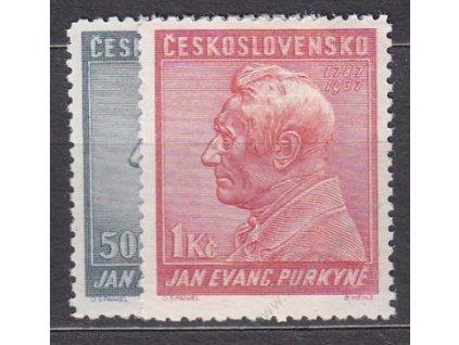 50h-1Kč Purkyně, Nr.322-3, **