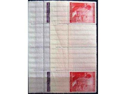 1943, 60h-1.20K 54.narozeniny A.Hitlera, Nr.106-7,VK5, **