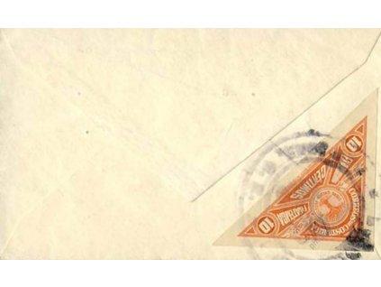 Costa Rica, 1937, dopis, vizitkový formát