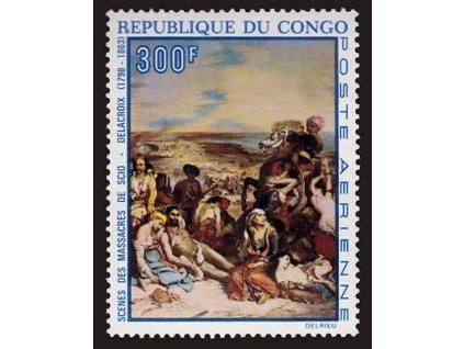 Kongo, 1970, 300Fr letecká, MiNr.228, **