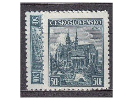 1938, 50h Plzeň a Košice, Nr.344-5, **