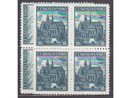1938, 50h Plzeň a Košice, 4bloky, Nr.344-5, **