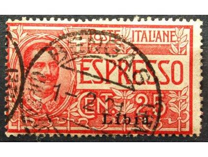 Libie, 1915, 25C Spěšná, MiNr.21
