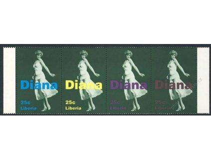 Liberia, soutisk Diana, **
