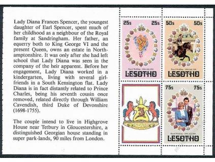 Lesotho, 1981, sešitkový list, MiNr.344-46, **