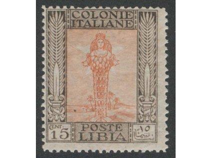 Libie, 1921, 15C Diana, MiNr.28, * po nálepce
