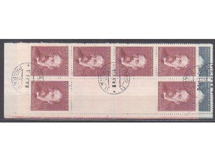 60-120h Smetana, pravé dolní podkovy, Nr.118-19, razítkované, ilustrační foto