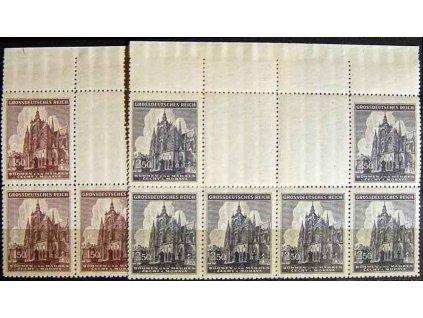1944, 1.50-2.50K Chrám sv.Víta, Nr.120-1,VK-7, **