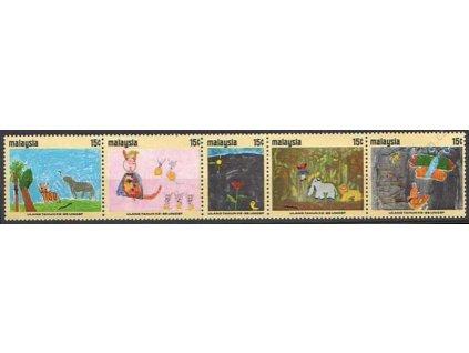 Malaisie, 1971, 15C série UNICEF, **