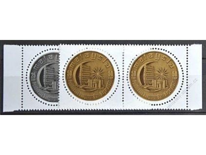 Malaysia, 1971, 25-50C série Banka, 2pásky, **