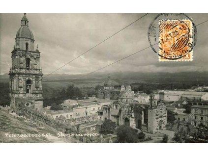 Mexiko, 1936, DR Mexiko, pohlednice, zasl. do ČSR
