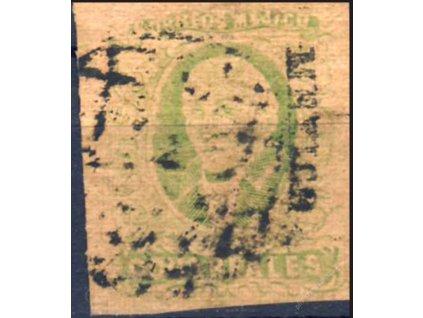 Mexiko, 1861, 8R Hidalgo, MiNr.13I, razítkované