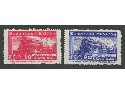 Mexiko, 1941, 10-20C Paketmarken, MiNr.1-2, **