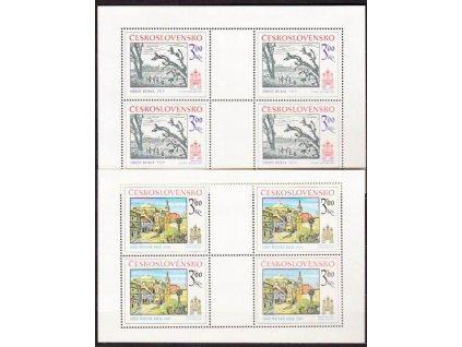 1978, 3-3.60Kčs PL - Bratislavské motivy, Nr.PL2311-12, **
