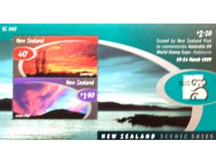 Nový Zéland, 1999, aršík, MiNr.Bl.89, **