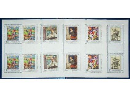 1979, 1.60-5Kčs PL - Umění, Nr.2405-9, **